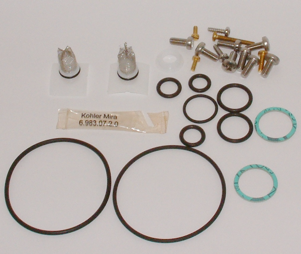 Mira 415 Shower Mixer Screw And Seal Service Pack